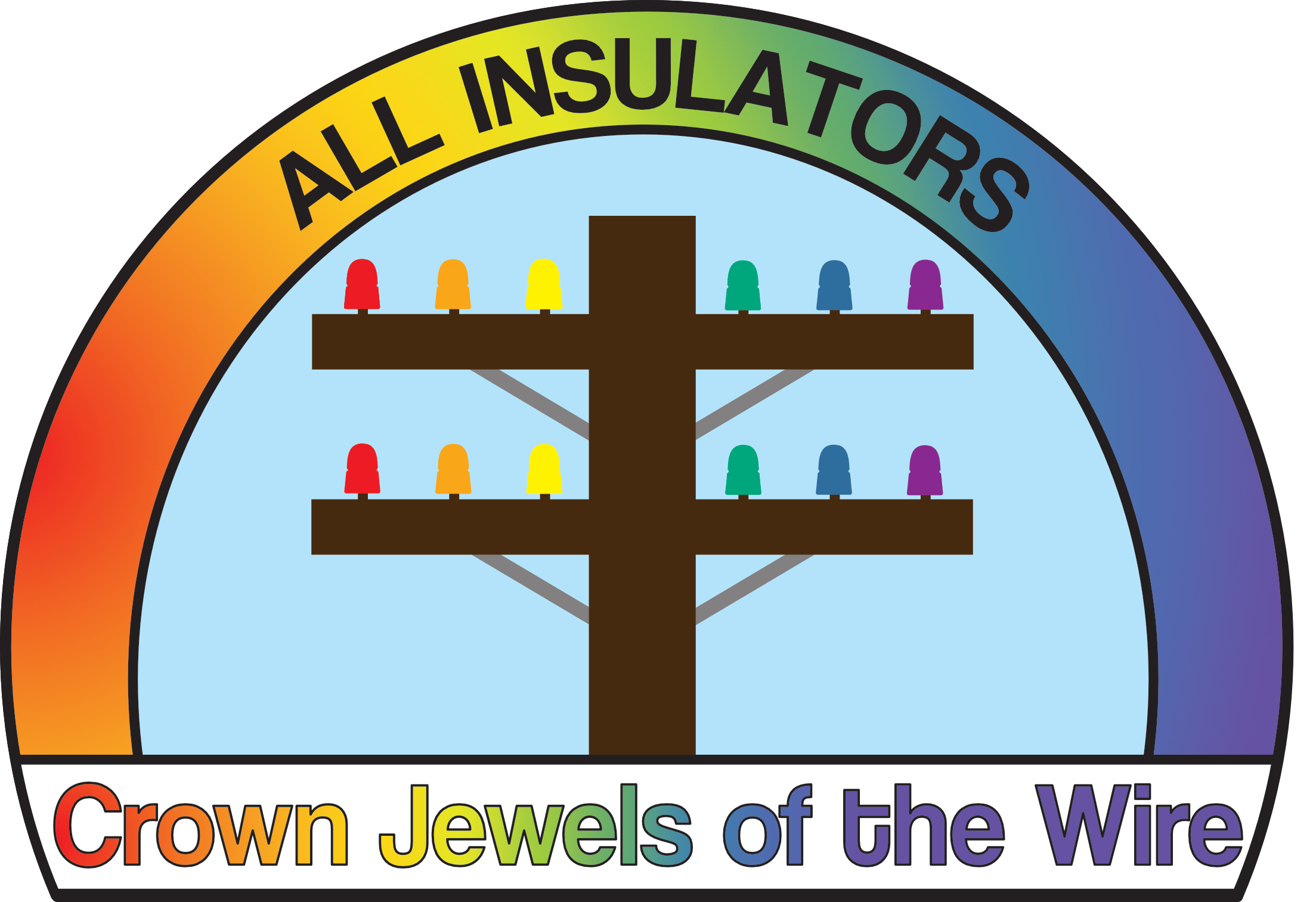 All Insulators - Crown Jewels of the Wire Logo